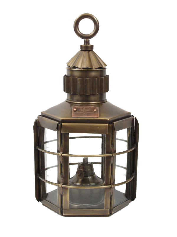 Oil Lantern - Antique Nautical Lantern