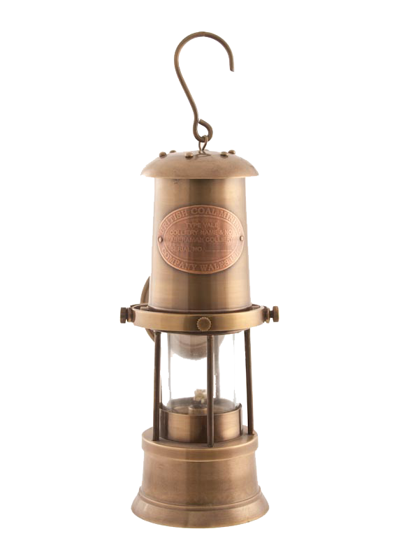 Oil Lantern - Miner Patio Lamp