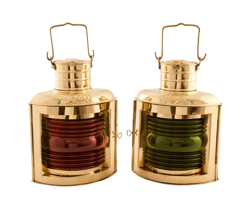 Oil Lantern - Port Starboard Nautical Lamps